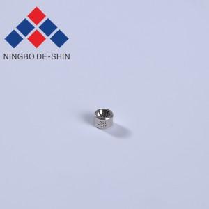 Charmilles C101 0.25mm Ceramic Casing Upper Diamond Guide 100432511, 430.585, 437.511, 200432511, 432.511