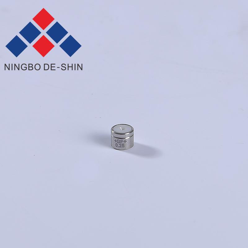 Charmilles C102 0.25mm Steel Casing Lower Diamond Guide 100430586, 430.586