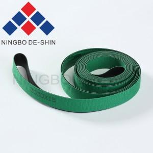 Charmilles Conveyer belt set of 2 pieces 0.7 x 15 x 3030 mm 200440864, 440.864