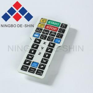 Charmilles Remote Control Membrane Keypad 500059797