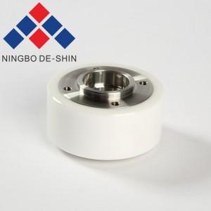 Excetek M405 white ceramics pinch roller 57*19*32t X053C779G51, M1096, 33663