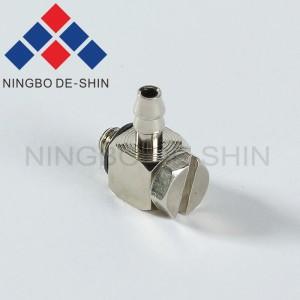 Fanuc Elbow screw joint, connector A97L-0203-0464 FTL4M3, A97L-0203-0464#FTL4M3, A97L-0203-0464/FTL4M3