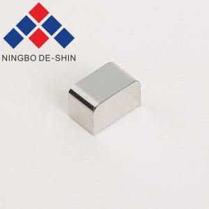 Fanuc F005/F007 cutting electrode, terminal electrode 6*6*10mm, A290-8102-X657