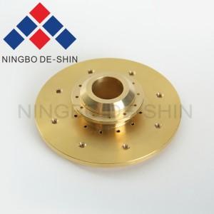 Mitsubishi M216 Upper flushing nozzle holder X182B458H02, X182B458G52, S637