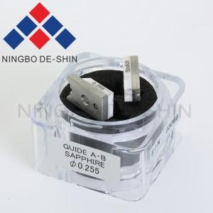 Sodick S100 Diamond split guide A+B 0.255mm 3085385, 0204760