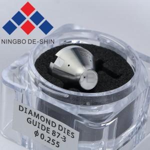 Sodick S103 Lower Diamond Guide 0.255mm 87-3, 90-3, 90-5, FJ type 3081423