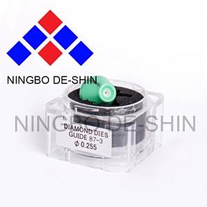 Sodick S103 green colored Lower diamond guide 87-3 0.255mm 3081423, 0206109