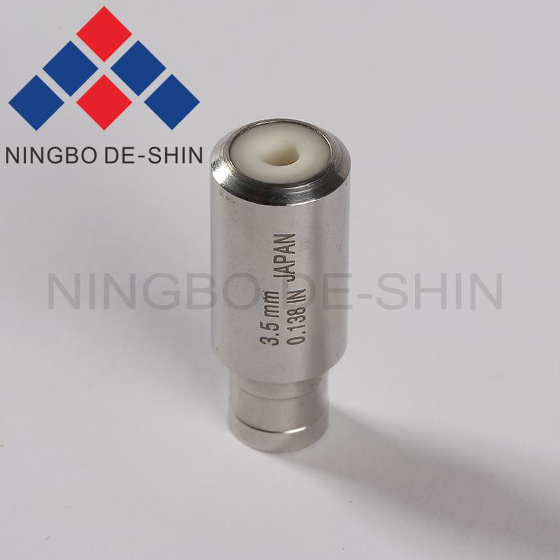 Z140 3.5mm Tube Guide, Pipe Guide, Drilling Guide in ceramics Type B (OD12*30L)