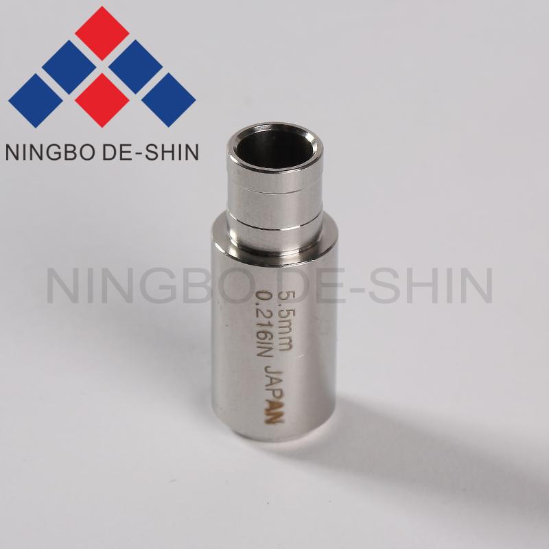 Z140 5.5mm Tube Guide, Pipe Guide in ceramics Type B (OD12*30L)
